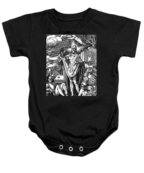 The Resurrection, From The Small Passion Baby Onesie