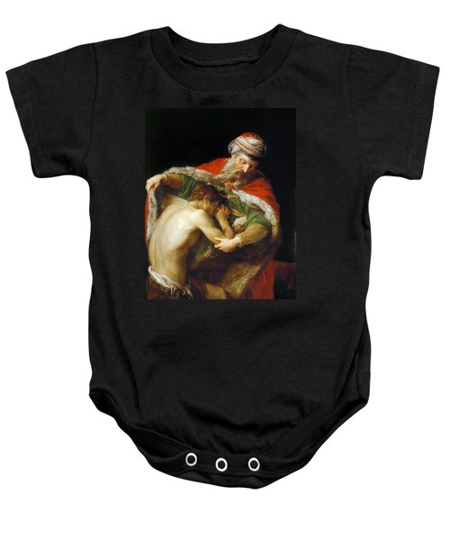 The Return Of The Prodigal Son Baby Onesie