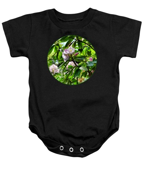 The Rhododendrons Are In Bloom Baby Onesie