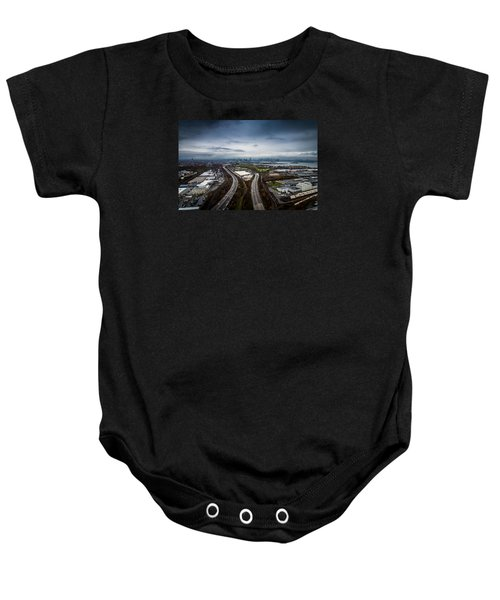The Road Ahead Baby Onesie