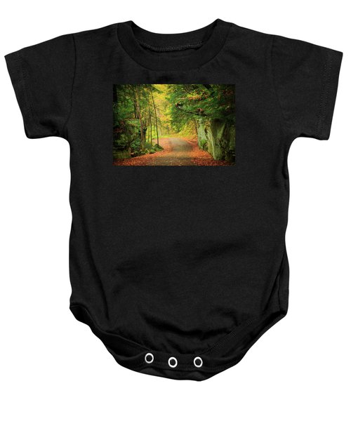 The Road To The Mill  Baby Onesie