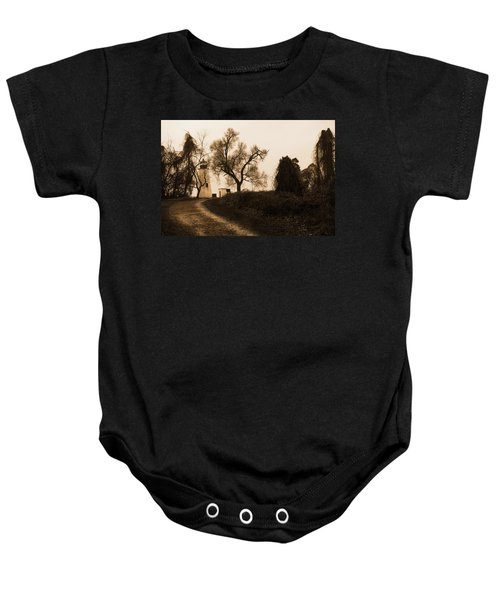 The Road To Turkey Point Lighthouse Baby Onesie