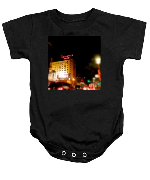 The Roosevelt Hotel By David Pucciarelli  Baby Onesie