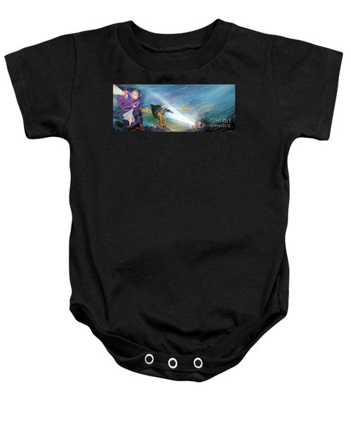 The Search Baby Onesie