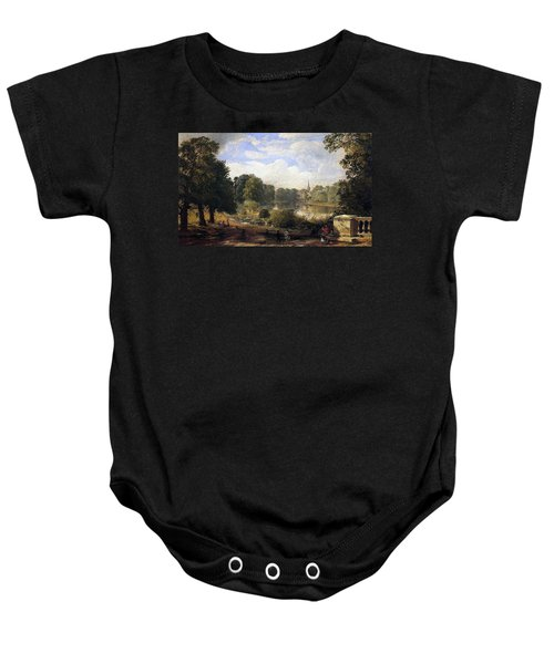 The Serpentine Baby Onesie by Jasper Francis Cropsey