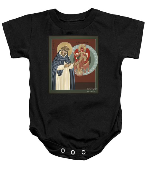 The Silence Of St Thomas Aquinas 097 Baby Onesie