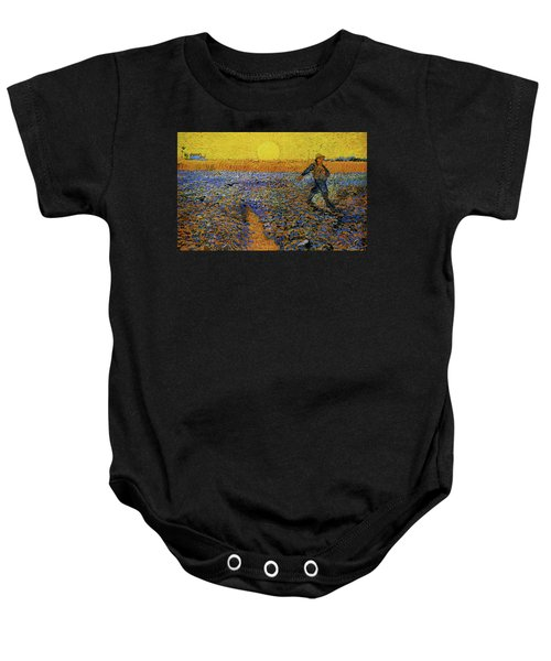 Baby Onesie featuring the painting The Sower by Van Gogh
