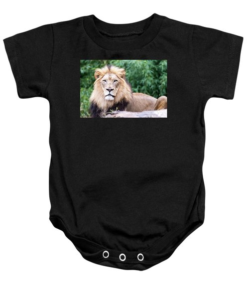 The Stare Down Baby Onesie