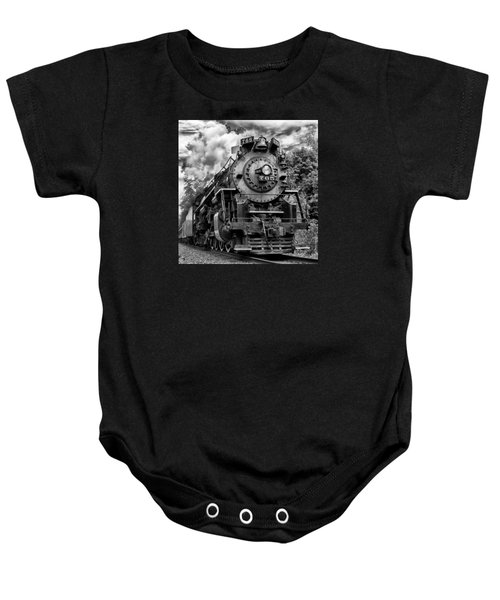 The Steam Age  Baby Onesie