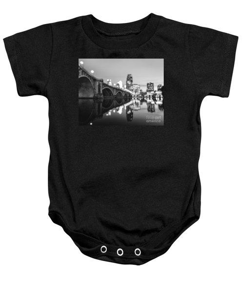 The Central Avenue Bridge Baby Onesie