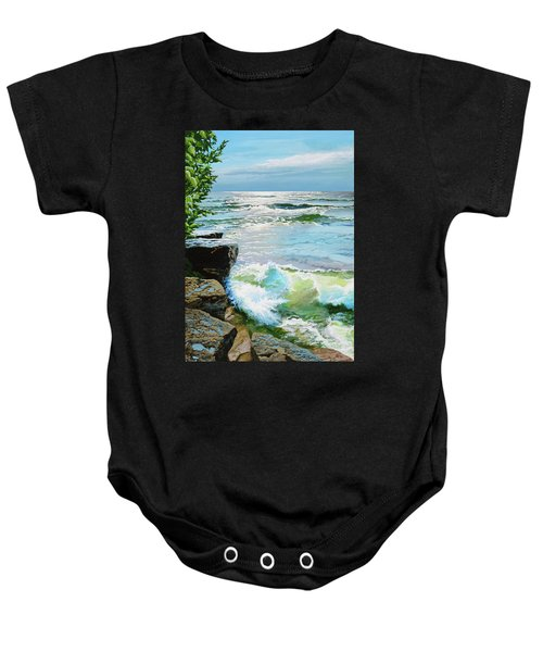 The Storm Is Gone Baby Onesie