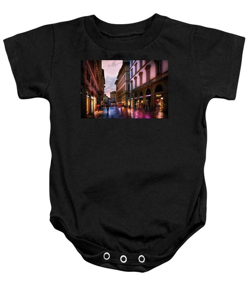 The Streets Of Florence Baby Onesie