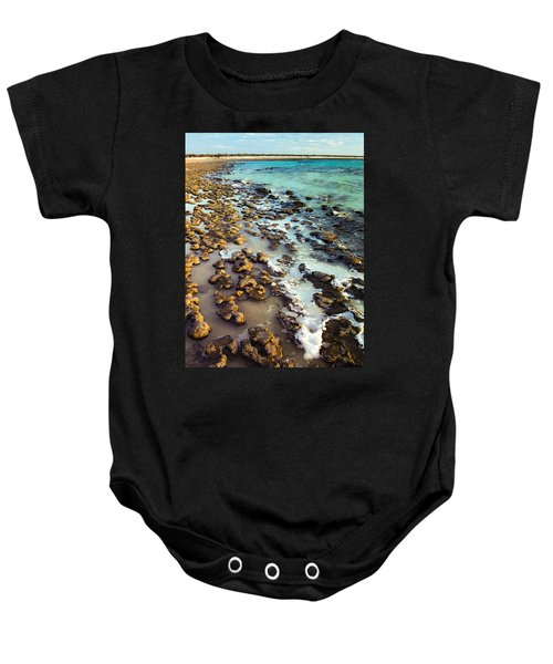 The Stromatolite Family Enjoying Its 1277500000000th Sunset Baby Onesie