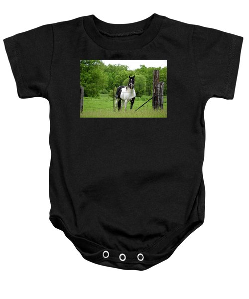 The Strong Horse Baby Onesie
