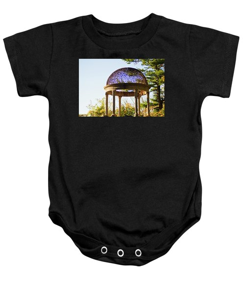 The Sunny Dome  Baby Onesie by Jose Rojas