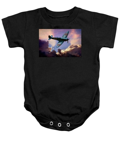 The Supermarine Spitfire Baby Onesie