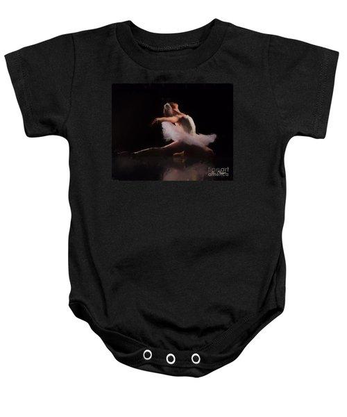 The Swan  Baby Onesie