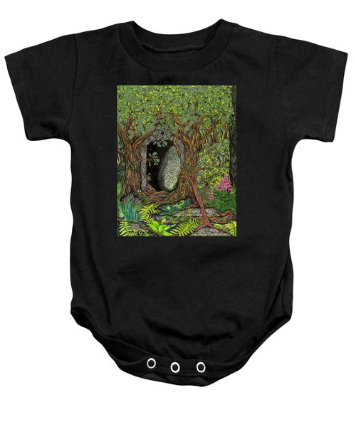 The Temple Of Math Baby Onesie