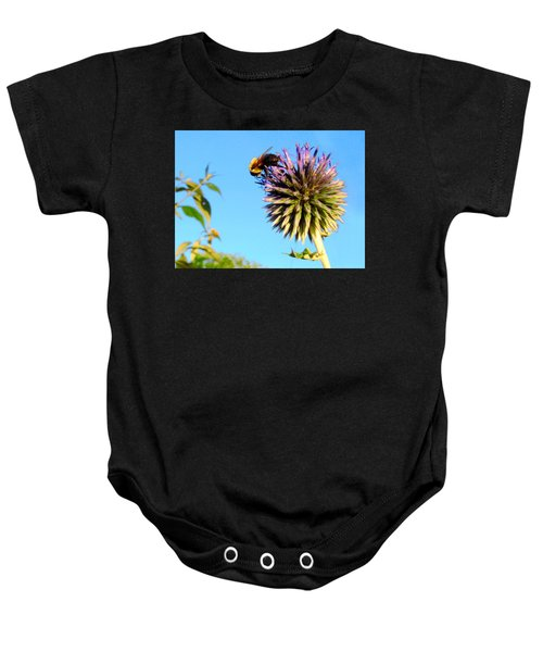 The Thistle And The Bee. Baby Onesie