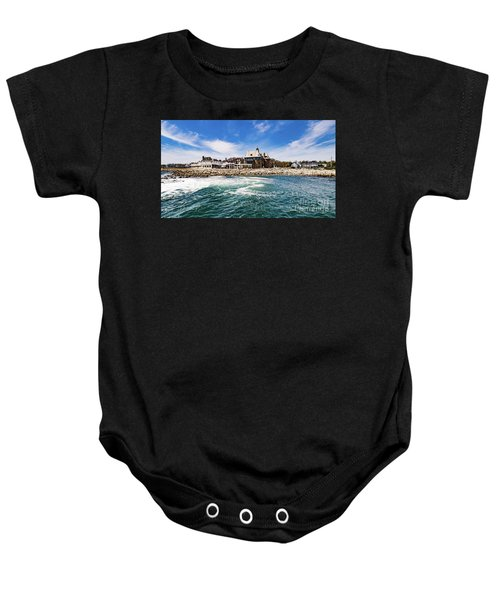 The Towers Of Narragansett  Baby Onesie