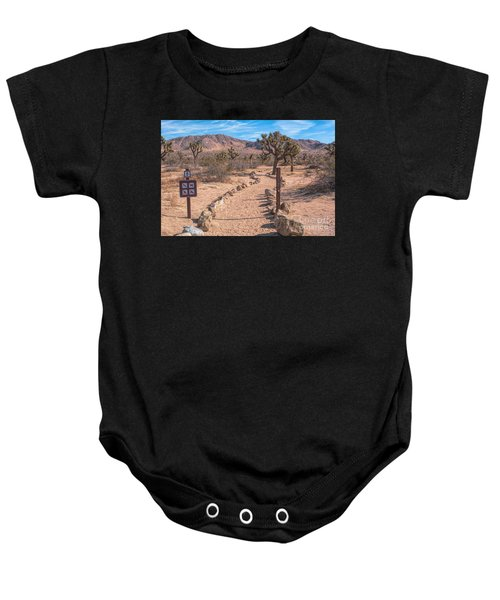 The Trailhead Baby Onesie