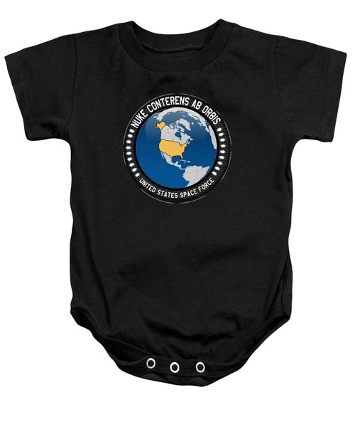 The United States Space Force Baby Onesie
