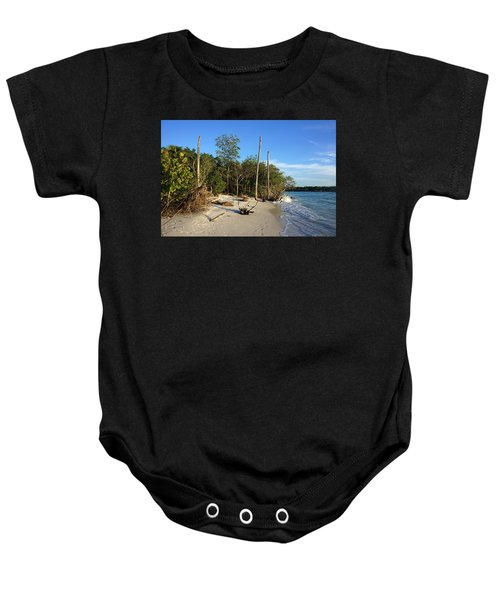 The Unspoiled Beauty Of Barefoot Beach In Naples - Landscape Baby Onesie