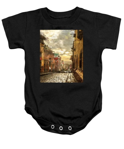 The View Looking Down Baby Onesie