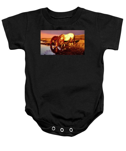 The Watering Hole Baby Onesie