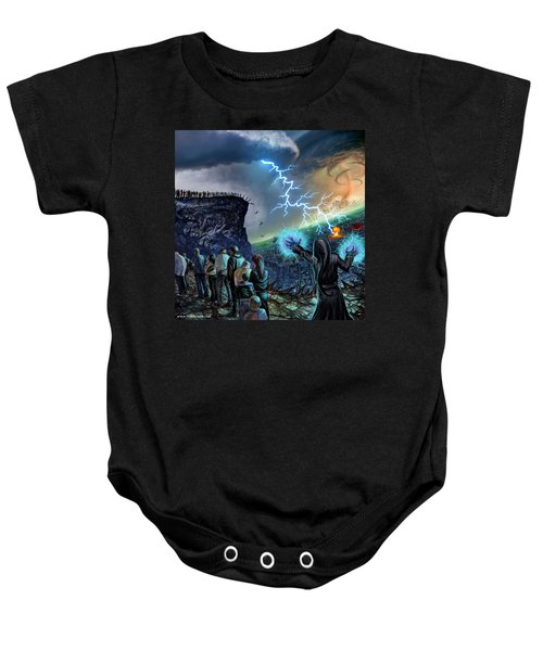 The Weak Shall Bring Us Down Baby Onesie