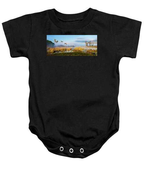 The Wetlands Baby Onesie