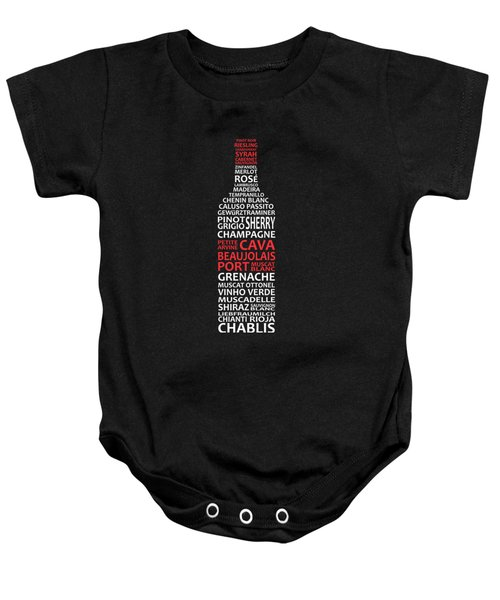 The Wine Connoisseur Baby Onesie