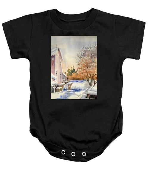 The Winter Mill Baby Onesie