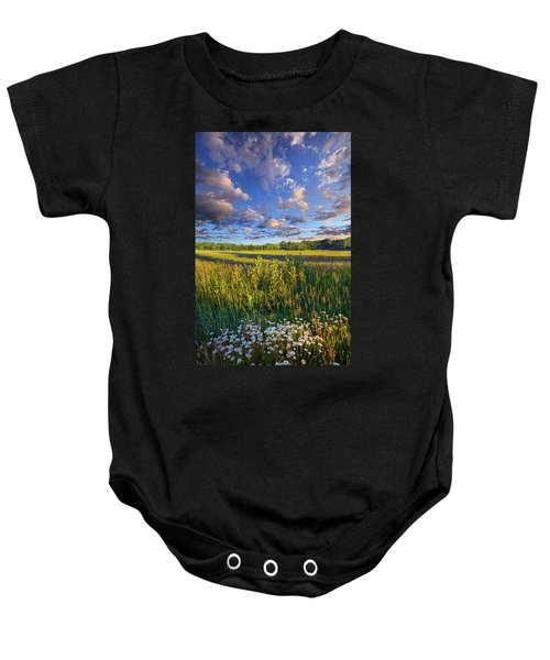 The World Is Quiet Here Baby Onesie