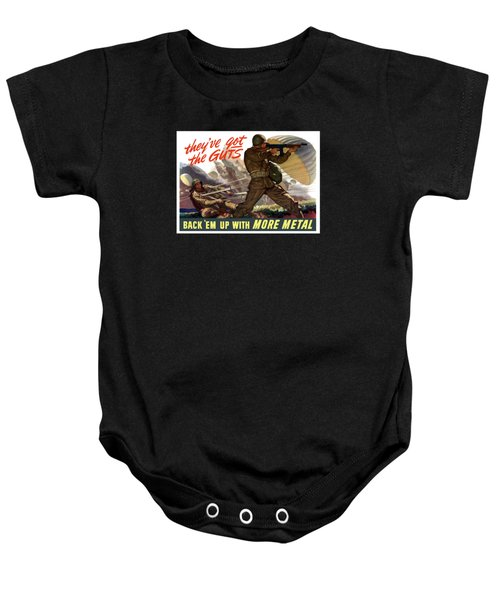 They've Got The Guts Baby Onesie