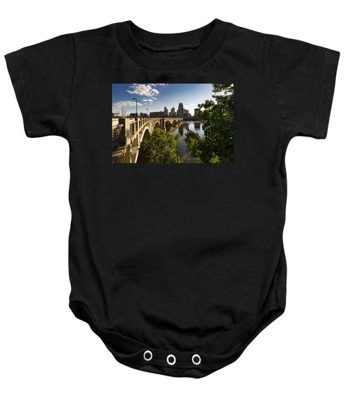 Third Avenue Bridge Baby Onesie