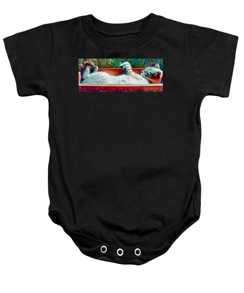 This Is The Life Baby Onesie