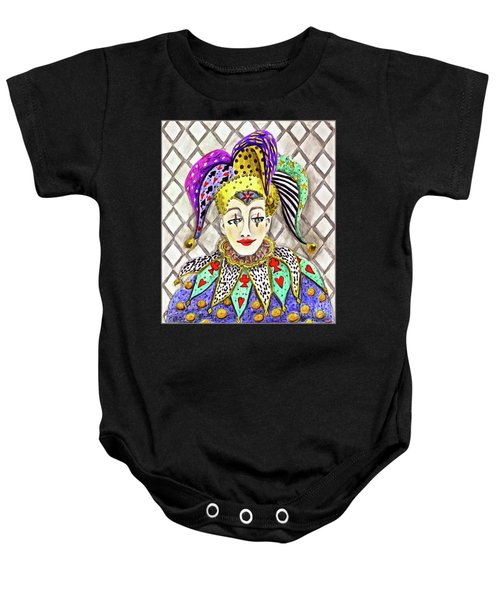 Thoughtful Jester Baby Onesie