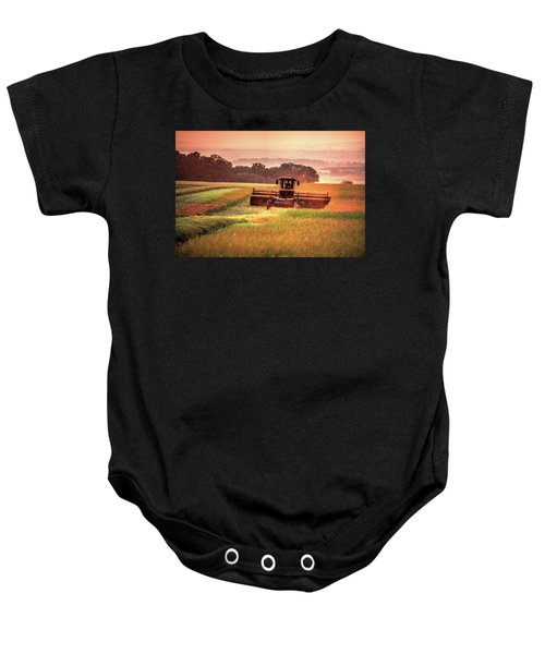 Swathing On The Hill Baby Onesie