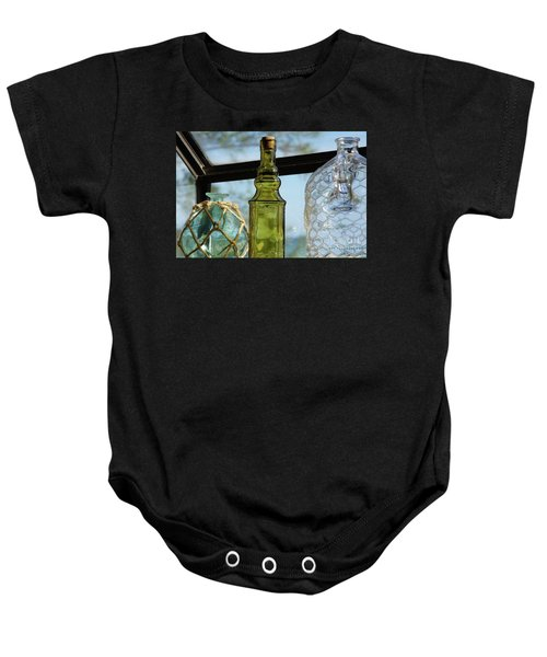 Thru The Looking Glass 3 Baby Onesie by Megan Cohen