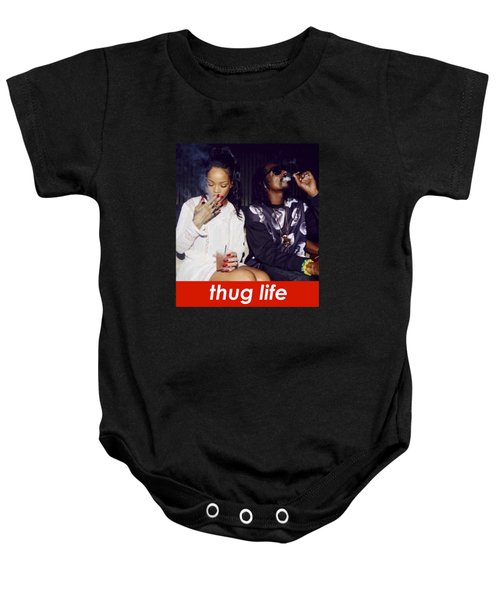 Thug Life Baby Onesie by Bruna Bottin