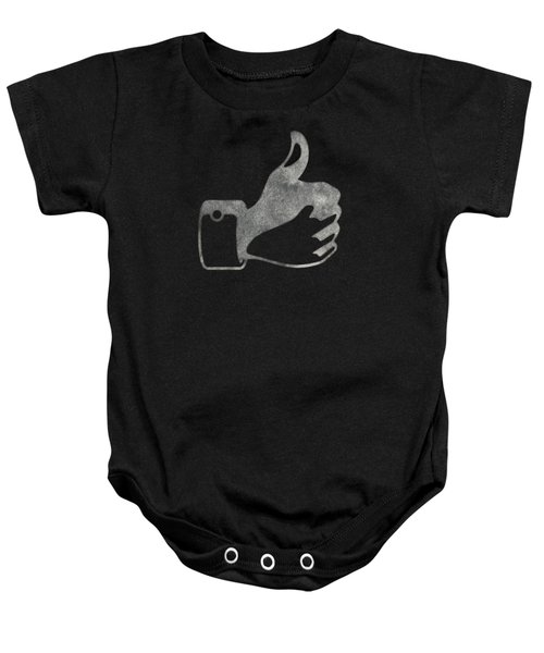 Thumbs Up Tee Baby Onesie by Edward Fielding