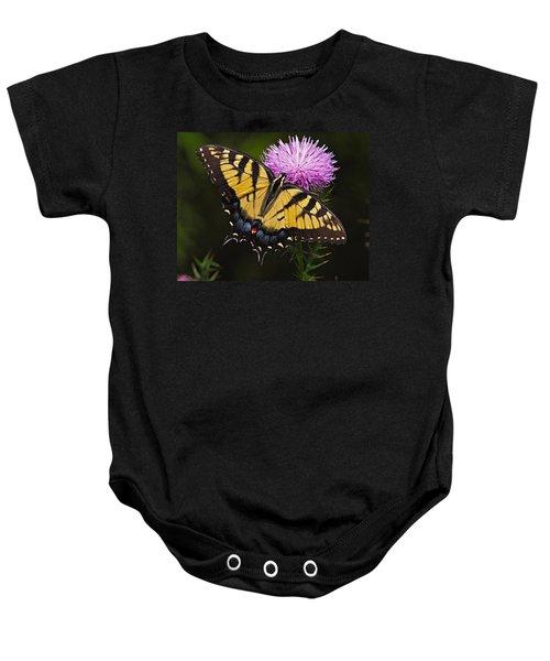 Tiger Swallowtail Baby Onesie