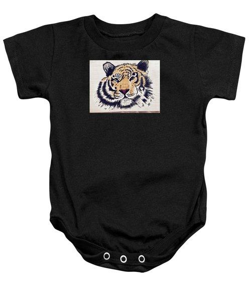 Tiger Tiger Burning Bright Baby Onesie