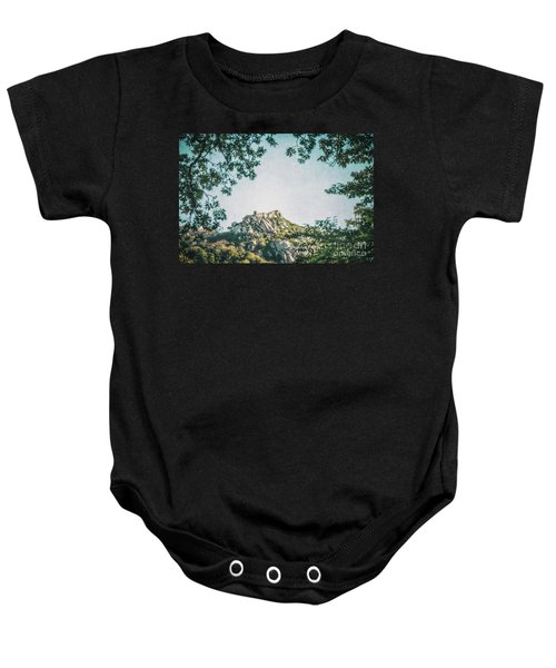 Time Temple Baby Onesie