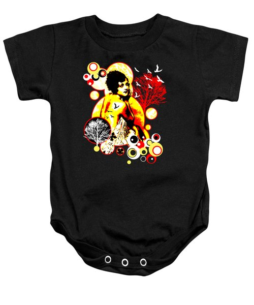 Timeless Flight Baby Onesie