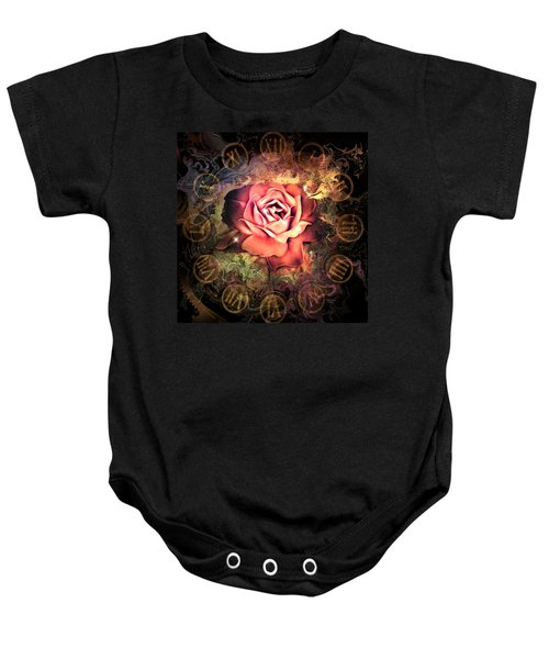 Timeless Rose Baby Onesie