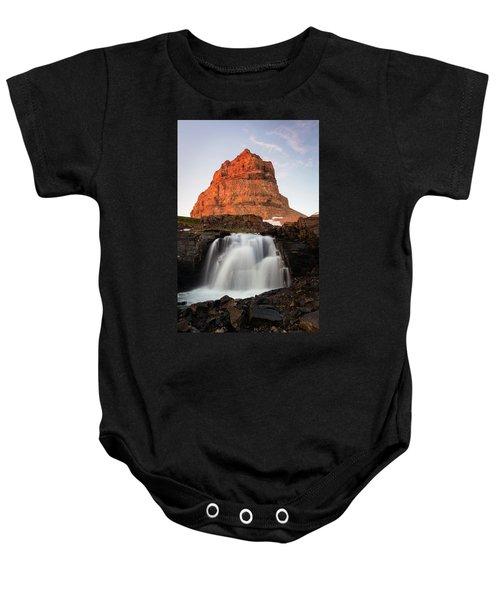 Timpanogos Waterfall Baby Onesie