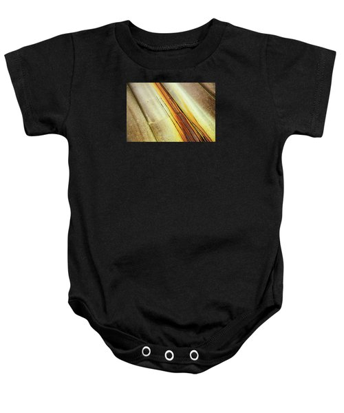 Tin Roof Abstract Baby Onesie