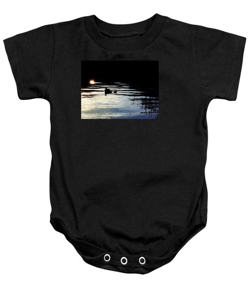 To The Light Baby Onesie